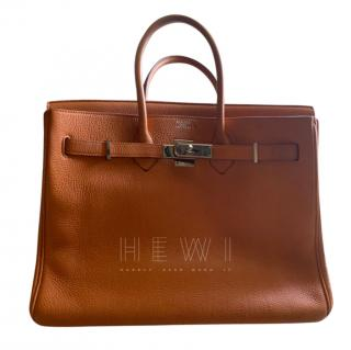 Hermes Togo Leather Orange 35cm Birkin