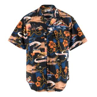 Stella McCartney Hawaiian Men's Short Sleeve Shirt