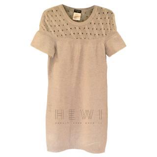 Chanel cashmere knit dress