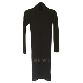 Hermes Black Cashmere Sweater Dress
