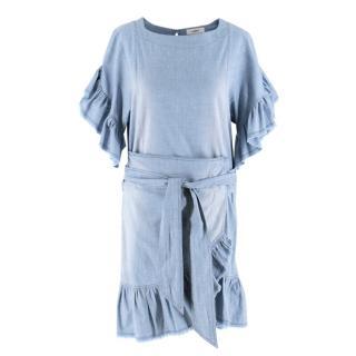Isabel Marant Etoile Chambray Wrap Dress
