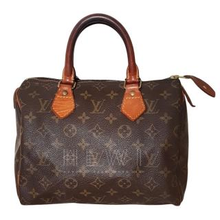 Louis Vuitton Monogram Speedy 25 Bag