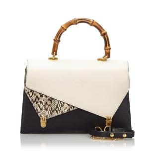 Gucci Ottilia Medium Bamboo Top Handle Bag