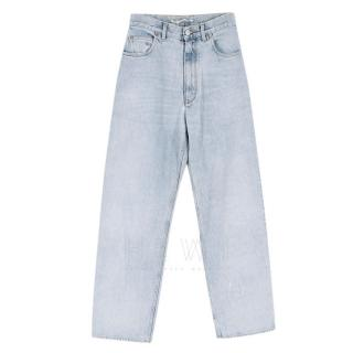 Golden Goose Light Wash Loose High-Waist Jeans