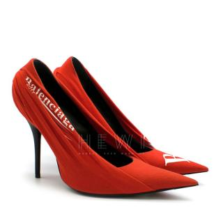 Balenciaga Red Knife 115 Pumps