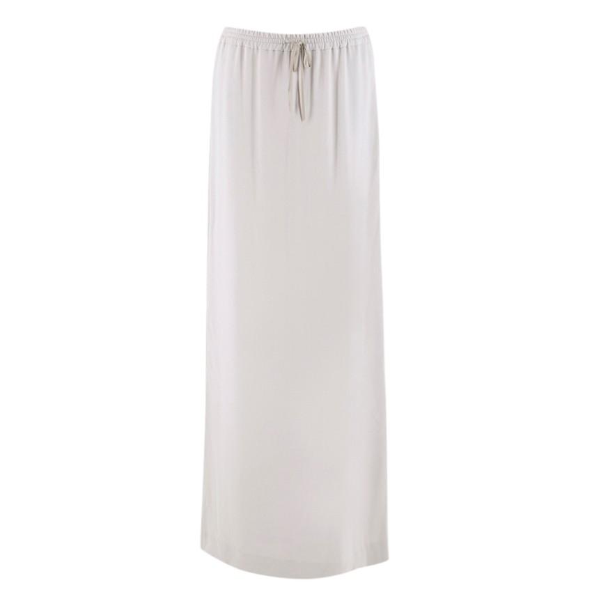 Joseph Silver Maxi Skirt