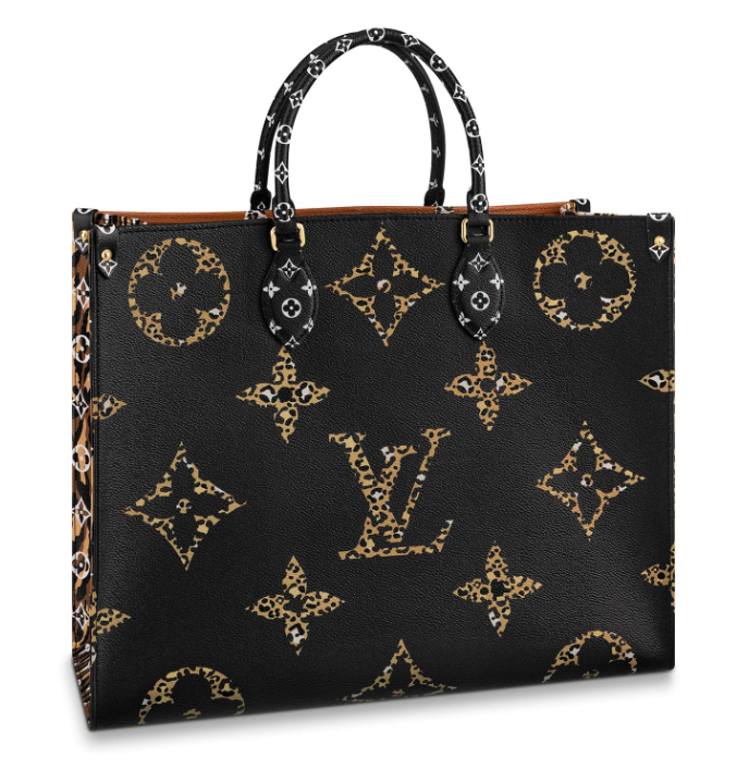 Louis Vuitton Jungle Collection Onthego Tote Bag