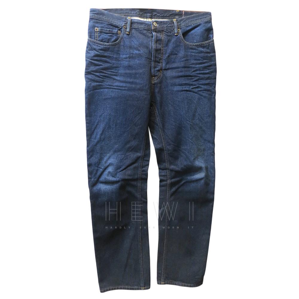 Acne Studios Men's Landmark Blue Jeans