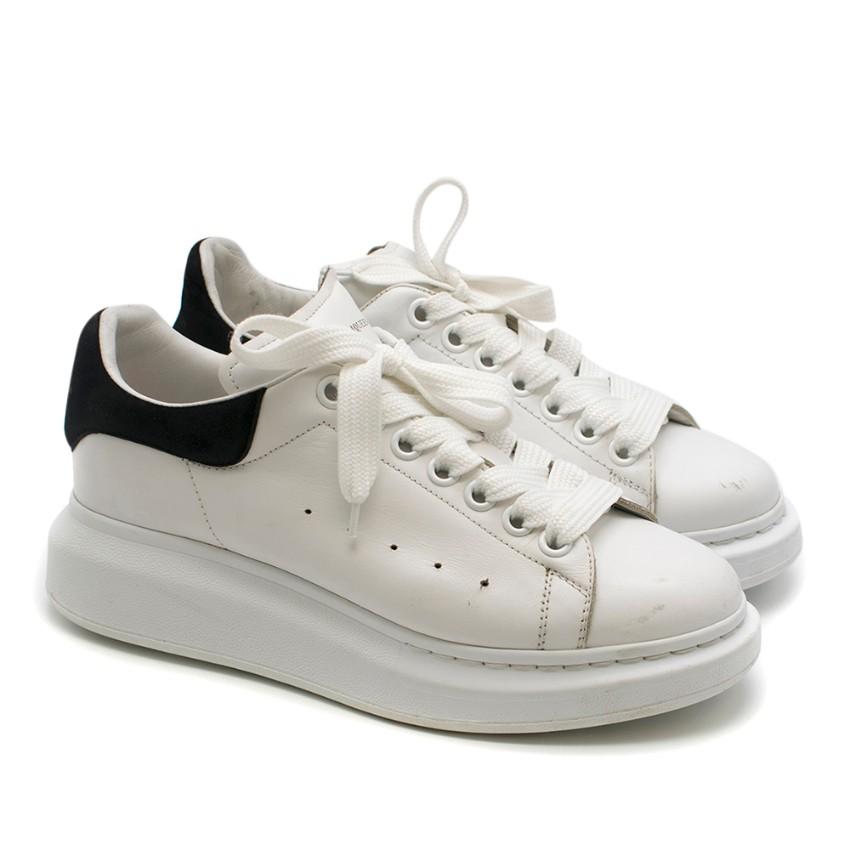 Alexander McQueen Black & White Oversize Sneakers