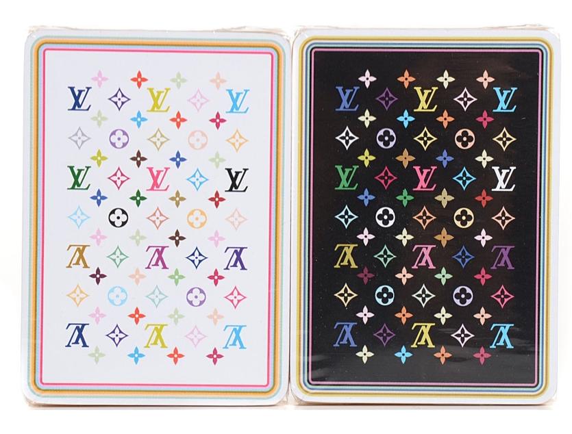 Louis Vuitton Takashi Murakami Playing Cards
