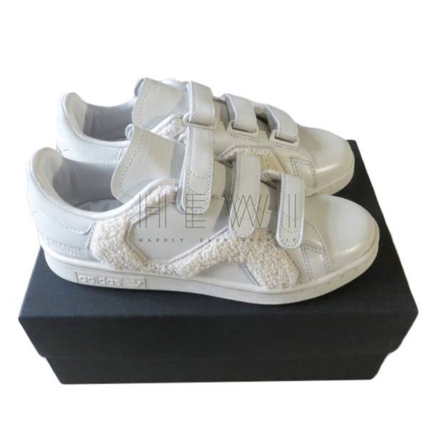 Adidas by Raf Simons Cream Felted Stan Smiths
