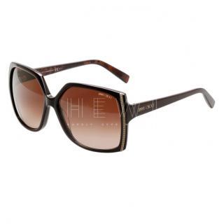 Jimmy Choo Agathe/S Square Sunglasses