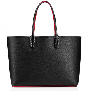 Christian Louboutin Cabata Tote Bag in Black Calfskin