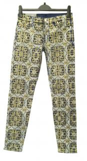 7 For All Mankind The Skinny Brocade Jeans
