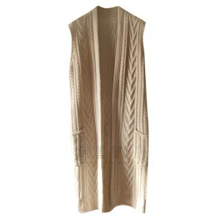 Max Mara Virgin Wool Cashmere Gilet