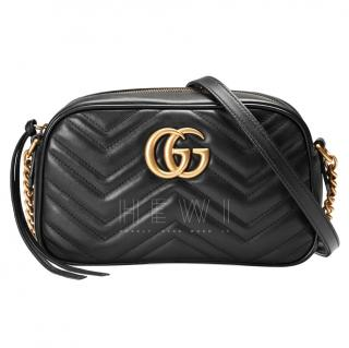 Gucci GG Marmont small matelass� shoulder bag