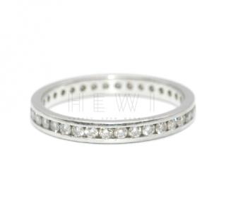 Bespoke Platinum 0.52ct Diamond Wedding Band
