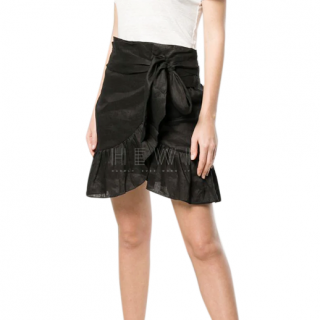 Isabel Marant �toile Tempster wrap-effect skirt