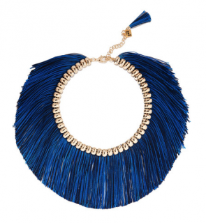 Rosantica Atena fringed gold-tone necklace