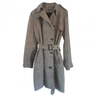 Lauren Ralph Lauren Houndstooth Belted Jacket