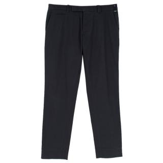 Fendi Navy Cotton Men's Chinos