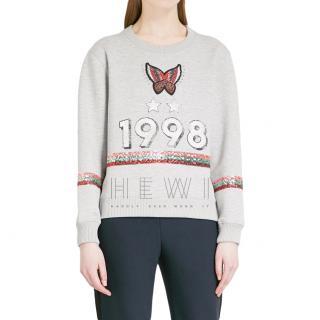 Maje 1998 Neoprene Sweatshirt