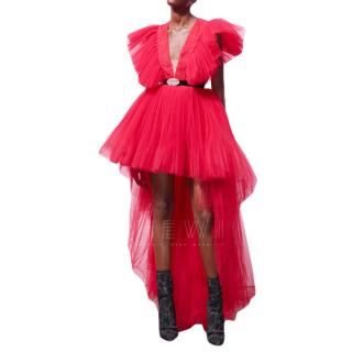 Giambattista Valli x H&M Red Tulle Dress