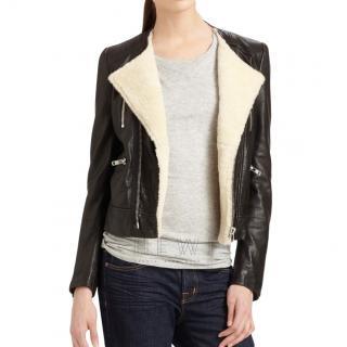 Rio black leather Svea Jacket
