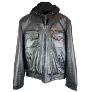 Schott Black Leather Jacket