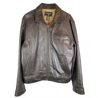 Polo Ralph Lauren Cowhide Leather Highwayman Jacket