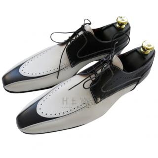 Zilli Black & White Oxfords