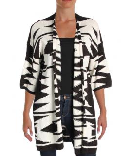 Lauren Ralph Lauren Aztec Print Linen Blend Jacket