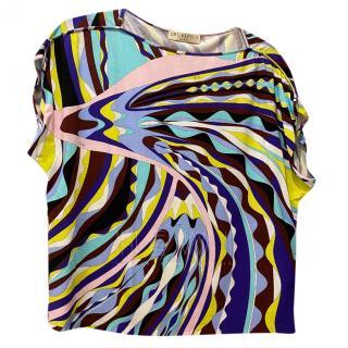 Emilio Pucci kaleidoscope print top