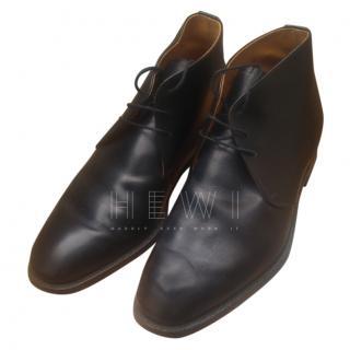 Joseph Cheaney Rockingham Black Lace-Up Boots