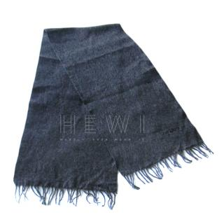 Guy Laroche Charcoal Cashmere Scarf