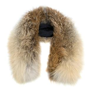 Bespoke Natural Rabbit Fur Collar