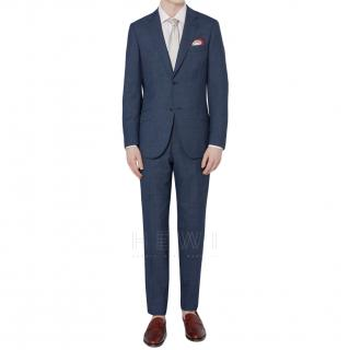 Thom Sweeney Blue Tailored Suit