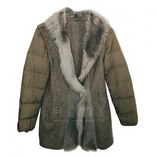 Fabiana Filippi Merino Wool & Cashmere Coat