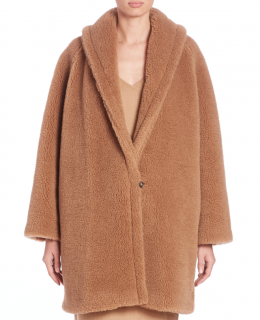 Max Mara Camel Hair Teddy Coat