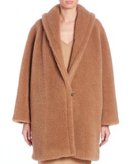 Max Mara Camel Hair Teddy Coat
