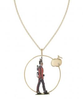 Francesca Villa Antique toy soldier diamond necklace