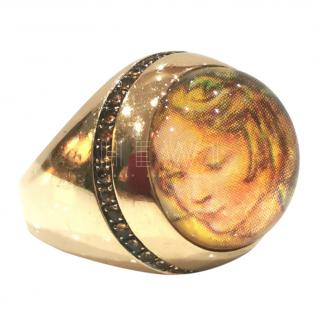 Francesca Villa antique print ring