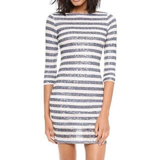 Alice + Olivia Sequin Striped Pammy dress