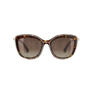 Chanel Tortoiseshell Butterfly Sunglasses - New Season
