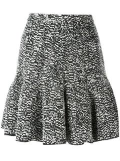 Carven Boucle tweed mini skirt