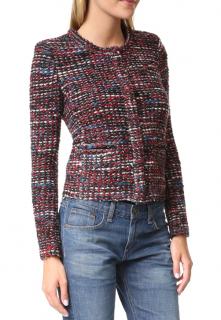 Iro Multi-Colour Tweed Knit Jacket