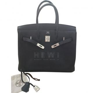 Hermes Black Togo Leather 35cm Birkin