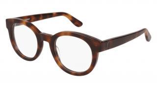 Saint Laurent Tortoiseshell Monogram Glasses