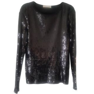 Michael Michael Kors Chain Sequined Top