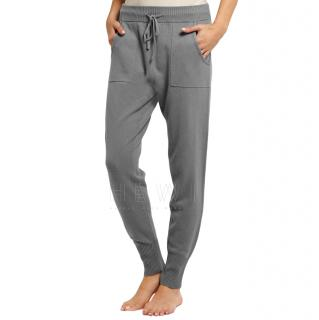Eres wool and cashmere-blend track pants